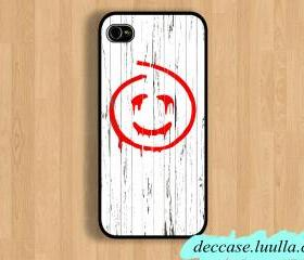 IPHONE 5 CASE The mentalist red john mask logo photo IPhone Case IPhone 4 Case IPhone 4S Case Hard Plastic Case Rubber Case